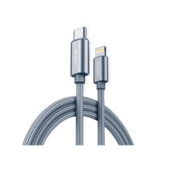 Kabel USB-C ROCK Typ C do Lightning Nylonowy