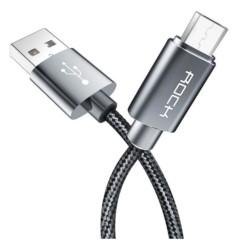 Kabel ROCK Micro USB Nylonowy 2,1A 100cm