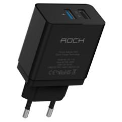 Ładowarka Sieciowa USB ROCK 2,1A Quick Charge 2.0