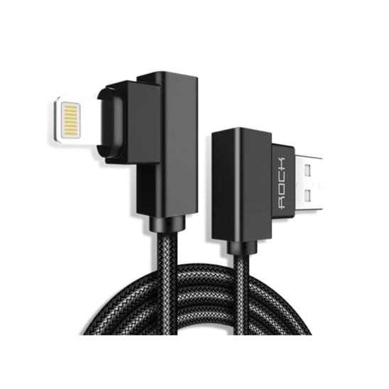 Kabel USB ROCK L-shape Lightning do iPhone 100cm