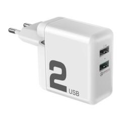 Ładowarka Sieciowa USB ROCK 2,4A Quick Charge 3.0