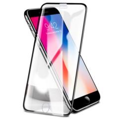 Szkło Hartowane Bezpyłowe 3D ROCK iPhone 6/6S/7/8