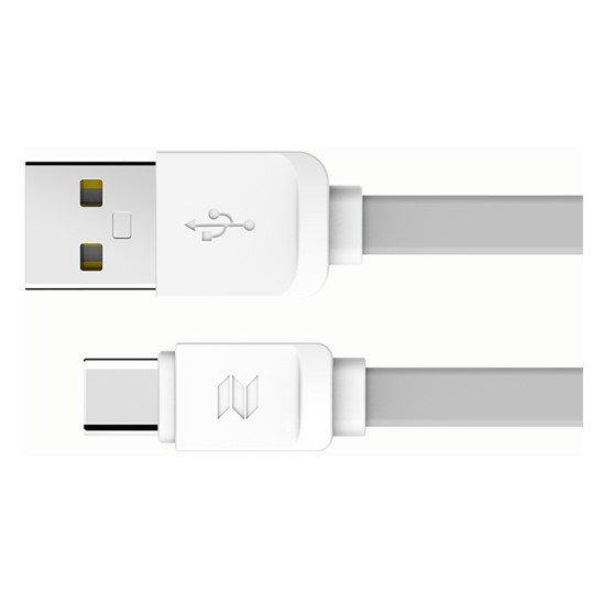 Kabel Płaski ROCK SPACE USB-C Typ C 100cm 2A