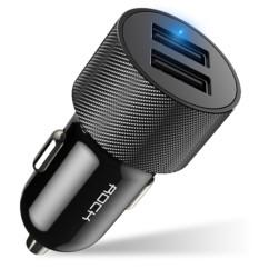 Ładowarka Samochodowa USB ROCK H3 2x 2,4A