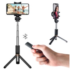 Kijek Selfie Stick Bluetooth Statyw ROCK + Pilot
