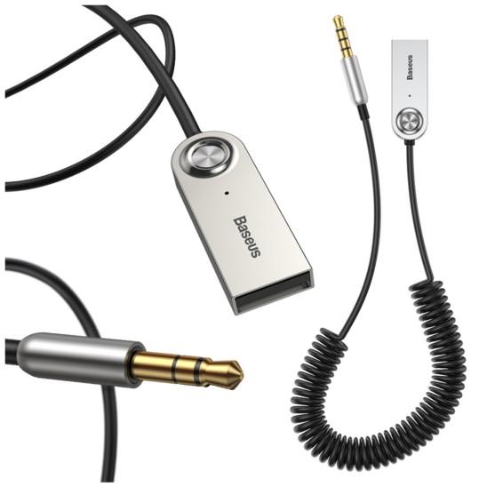 Bezprzewodowy adapter odbiornik dźwięku BASEUS