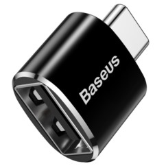 Adapter Przejściówka BASEUS USB-A do USB-C