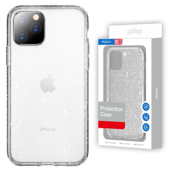 "Brokatowe Etui ROCK do iPhone 11 Pro Max - 6,5"""