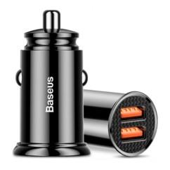 Ładowarka Samochodowa USB BASEUS Mini 30W QC3.0