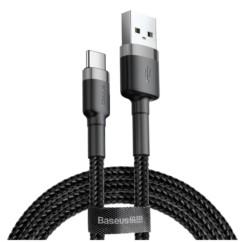 Kabel nylonowy Baseus Cafule USB-C 3A, 100cm