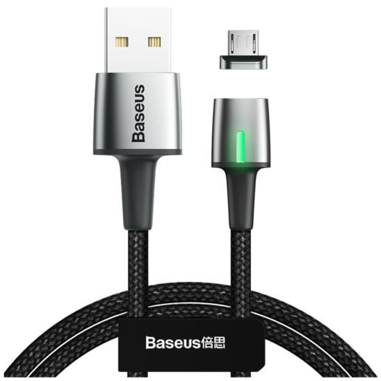 Kabel magnetyczny BASEUS Zinc Micro-USB 2.4A,100cm