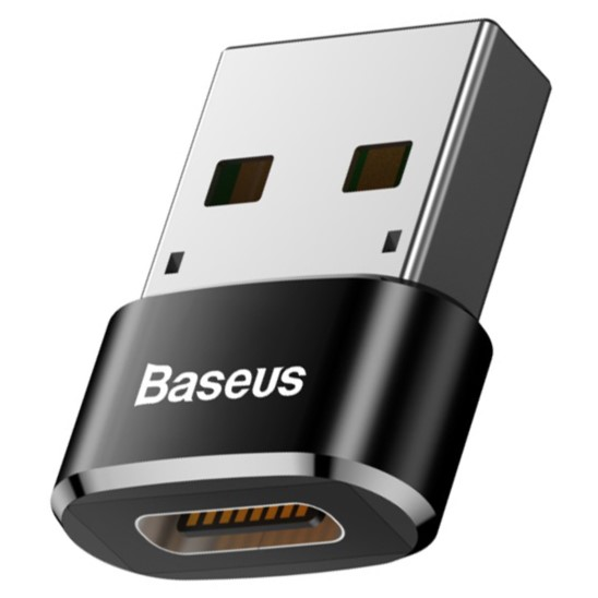 BASEUS Adapter Przejściówka USB-C do USB-A