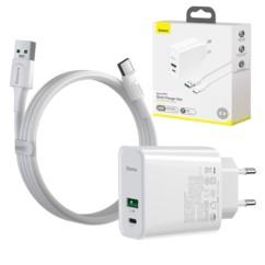 BASEUS Speed PPS Ładowarka Sieciowa 30W+ kabel