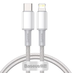 BASEUS Kabel USB-C do Lightning PD 20W 1m
