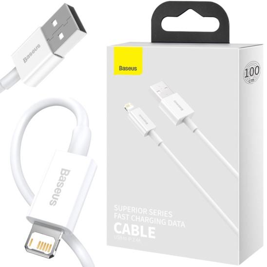 BASEUS Mini Superior USB Lightning 2.4A, 100cm