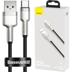 Baseus Cafule Metal Kabel nylonowy USB-C 66W 100cm