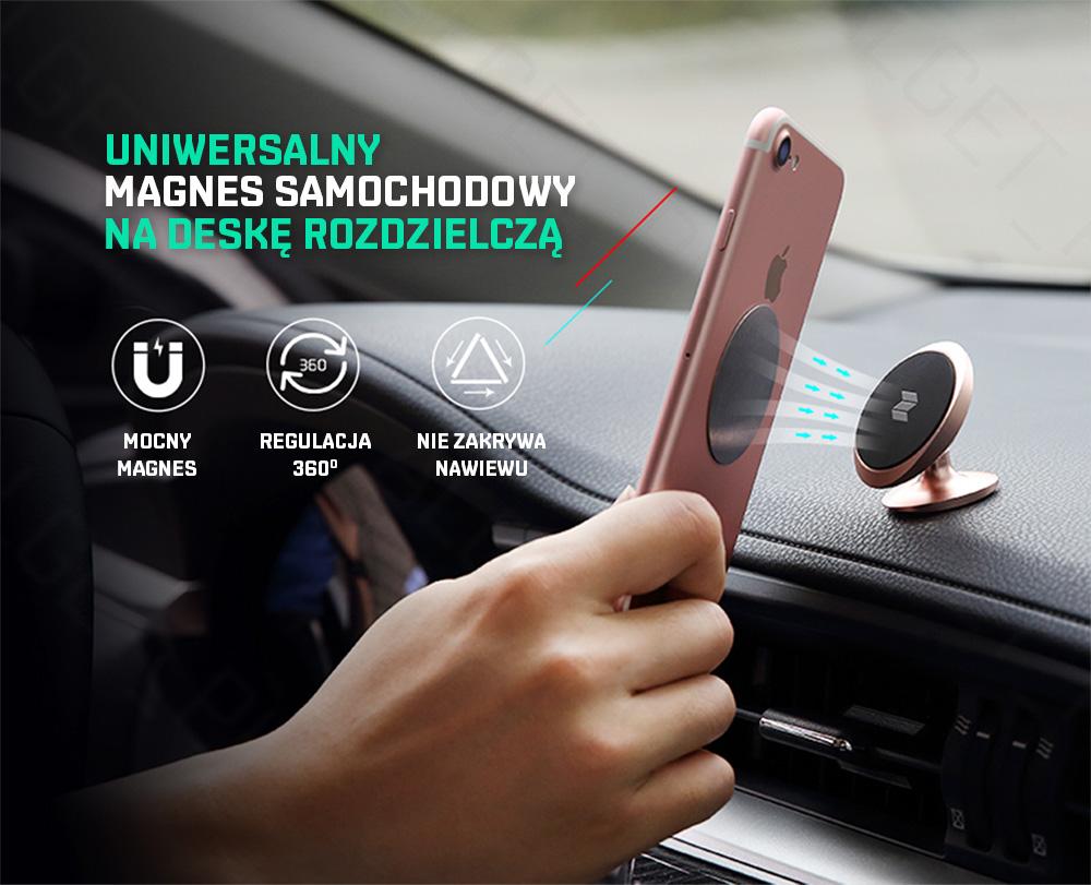 Uniwersalny magnes samochodowy