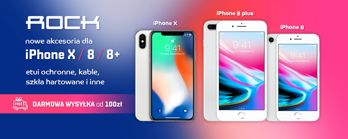 Nowe akcesoria do iPhone X, 8 i 8 plus