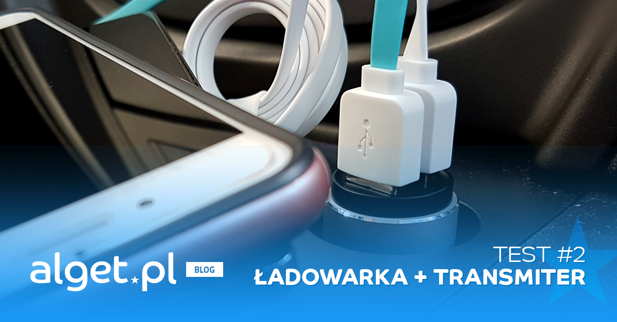 Test #2 - Transmiter Bluetooth FM + Ładowarka 2 x USB ROCK
